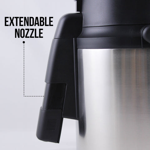 airpot extendable nozzle