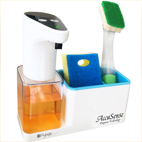 Image of automatic kitchen soap dispenser