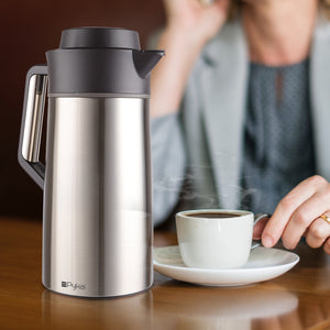 Thermal Coffee Carafe - with ThermaClick Lid (68 oz)