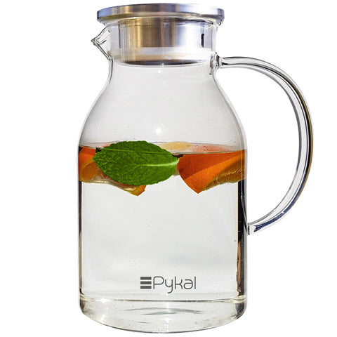 glass pitcher 68oz