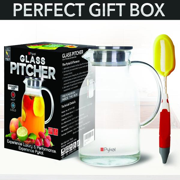 glass pitcher with perfect gift box