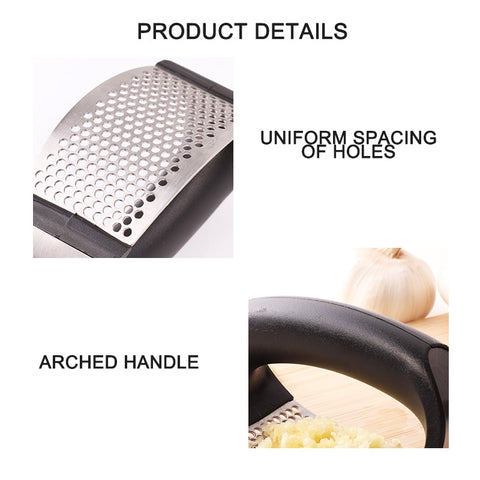 Image of Stainless Steel Garlic Press