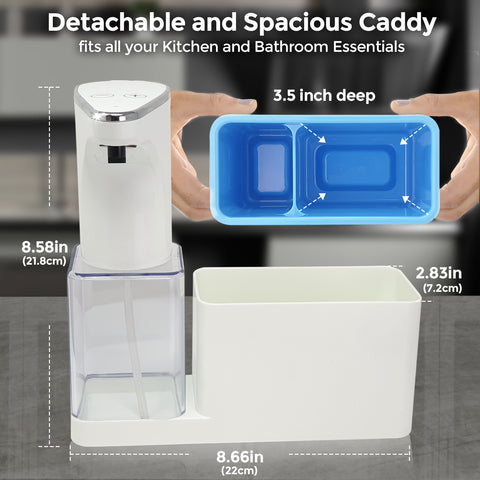 Image of soap dispenser demensions