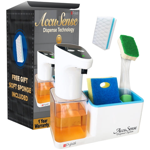 Image of soap dispenser with gift box