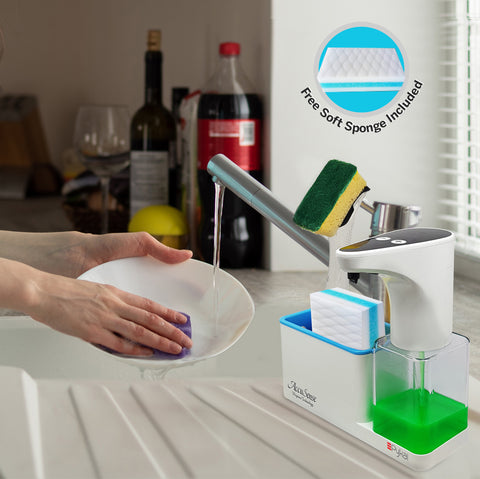 Image of soft sponge soap dispenser