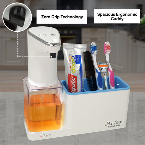 Image of zero dripping bathroom soap dispenser