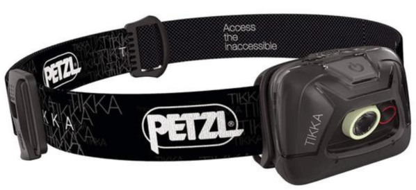 PETZL TIKKA Tactical LED Headlamp