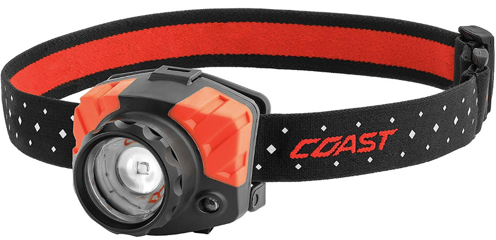 Coast FL85 Dual Color Pure Beam Headlamp