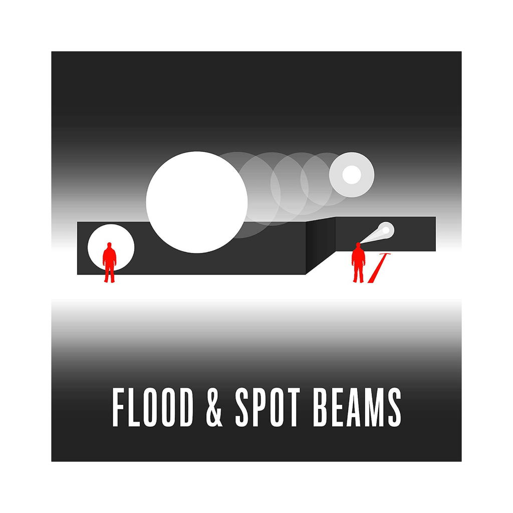 Coast FL75R Headlamp Flood and Spot Beams