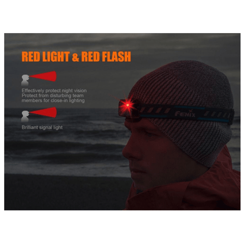 Fenix HL12R Headlamp Red Light and Red Flash