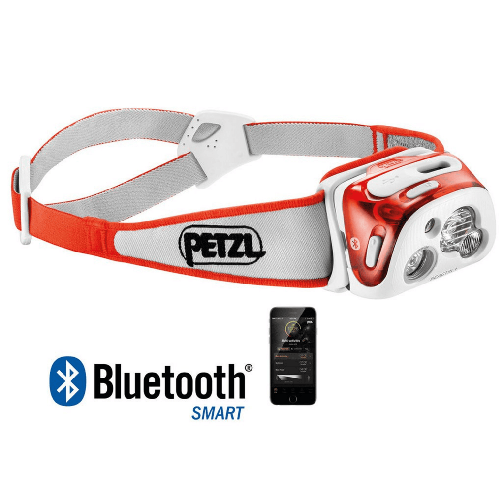 PETZL REACTIK+  Headlamp Bluetooth