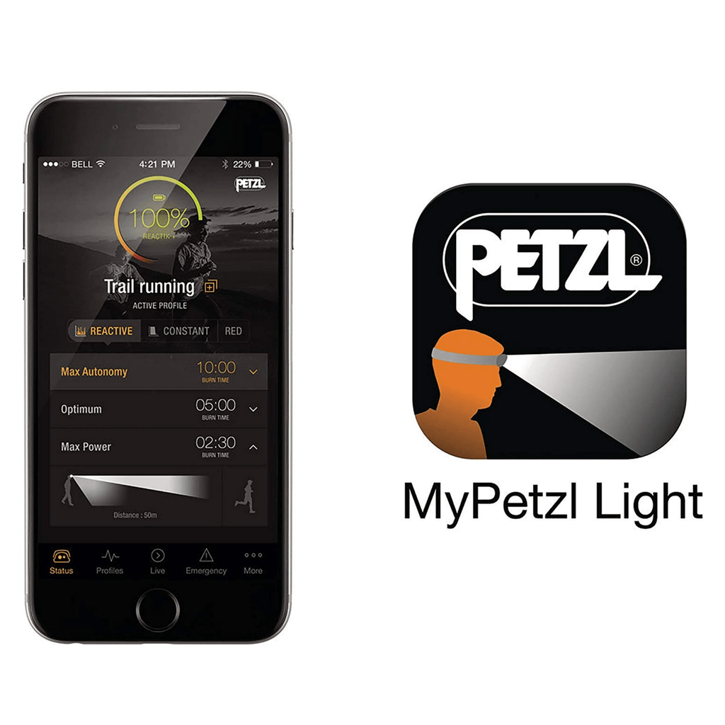 My Petzl Light phone app
