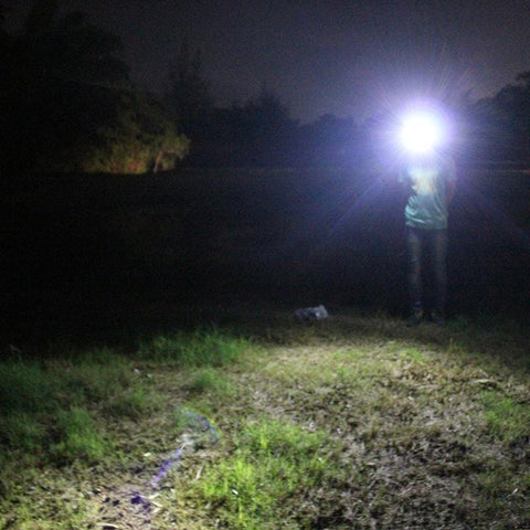 Image of BORUIT B10 Headlamp Actual Light