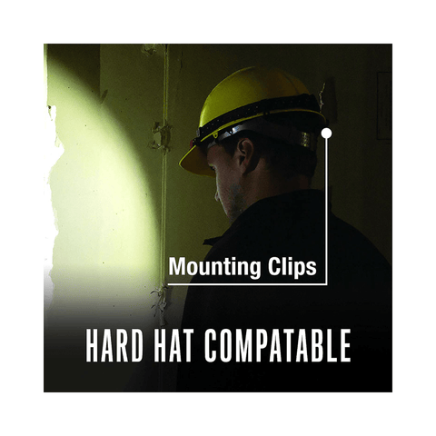 Image of Coast FL75R Hard Hat Compatible Headlamp