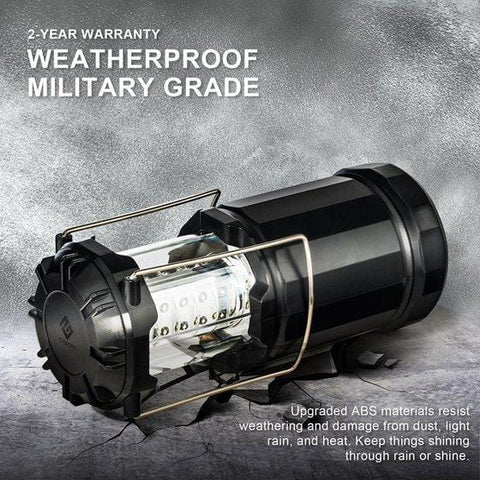 Etekcity EverBright Portable LED Lantern Weatherproof Military Grade