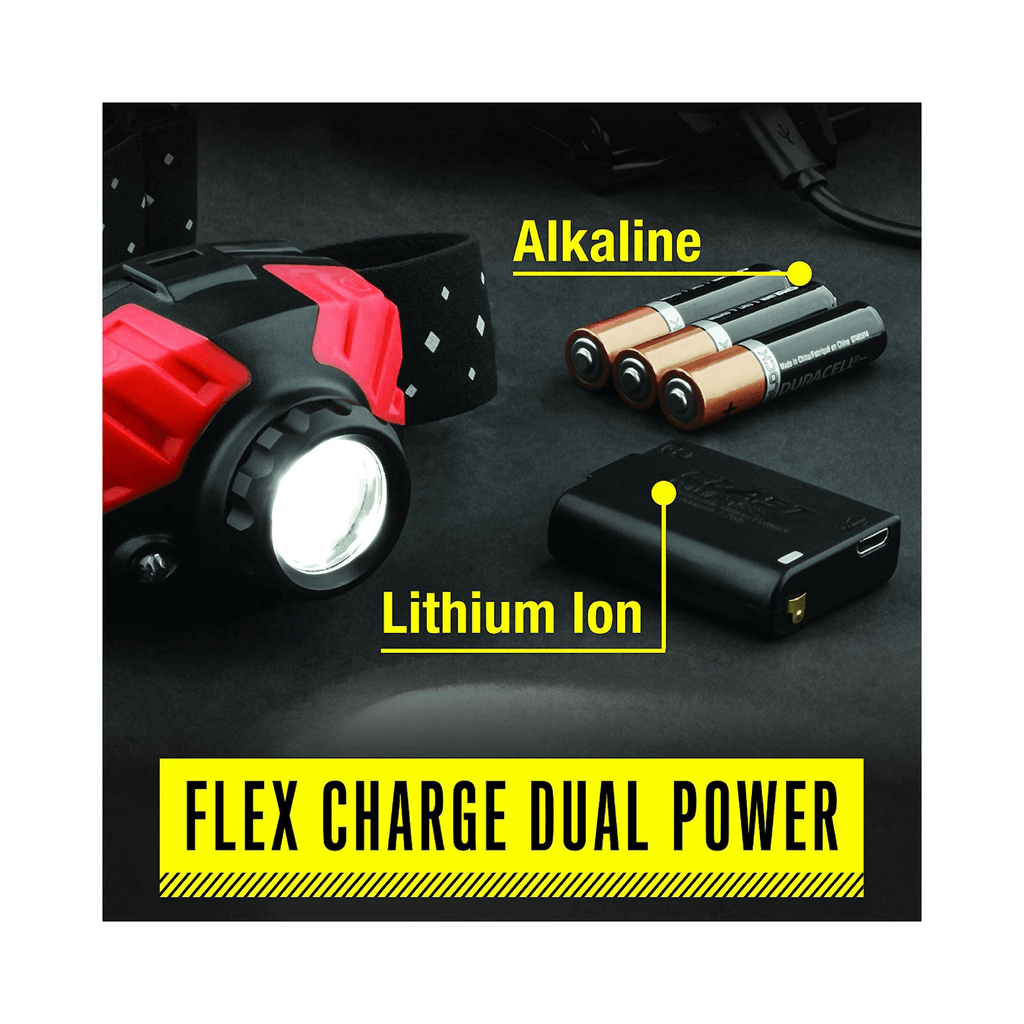 Coast FL75R Headlamp Flex Charge Dual Power