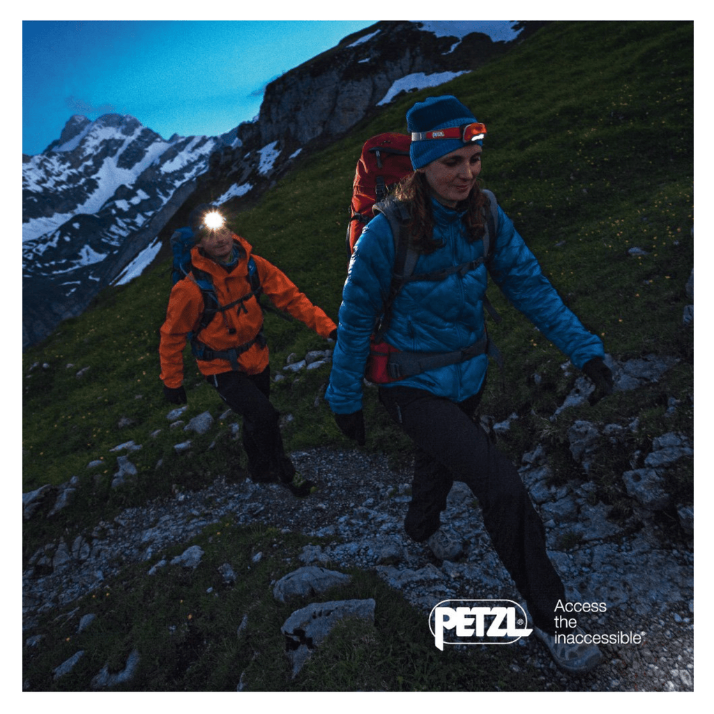 PETZL REACTIK+ Headlamp for backpacking