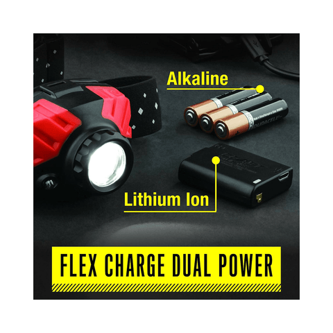 Image of Coast FL75R Headlamp Flex Charge Dual Power