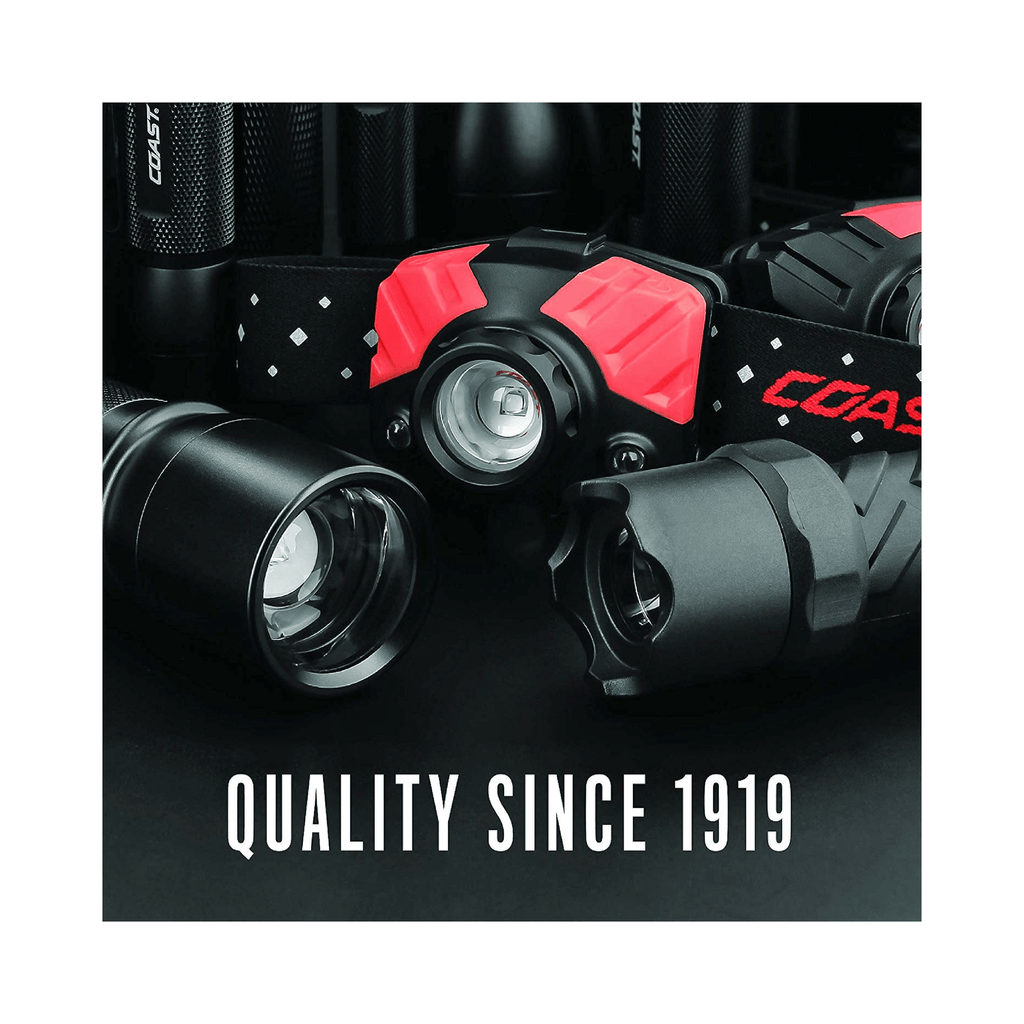Coast FL75R Headlamp Quality Since 1919