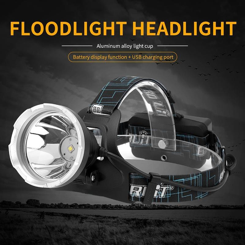 BORUIT B10 Floodlight Headlight