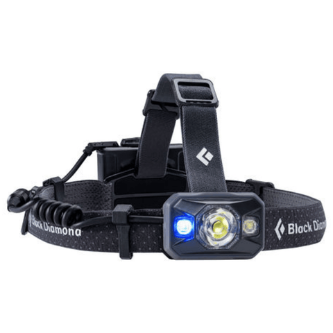 "Image of ""Black Diamond Icon Black Headlamp with Blue Light"""