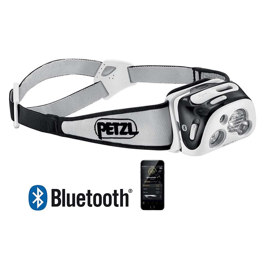 PETZL REACTIK+ Bluetooth Headlamp