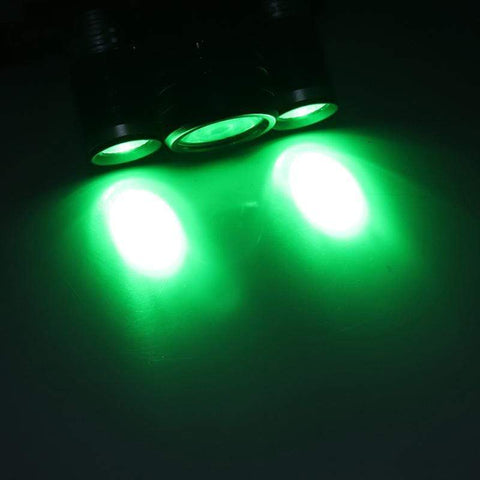 Image of BORUIT 1156 LED Headlamp Green Light