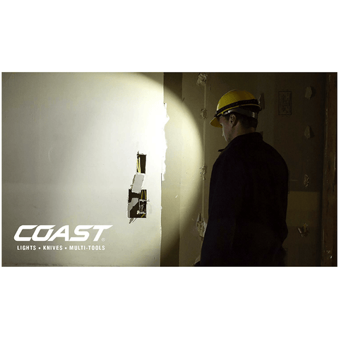 Coast FL85 Dual Color Pure Beam Headlamp Actual Light
