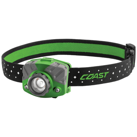 Coast FL75R Green Headlamp