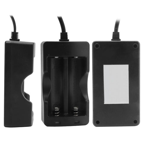 Image of Boruit Smart Charger Kit Top View, Side View and Back View