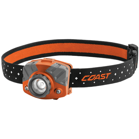 Coast FL75R Orange Headlamp