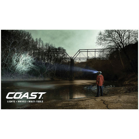 Image of Coast HL7 Headlamp Light Range