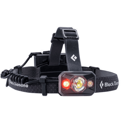 """Black Diamond Icon Black Headlamp with Red Light"""