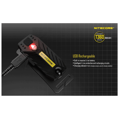 Image of Nitecore T360 Headlamp USB Rechargeable