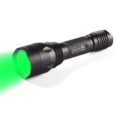 Image of Green LED Flashlight