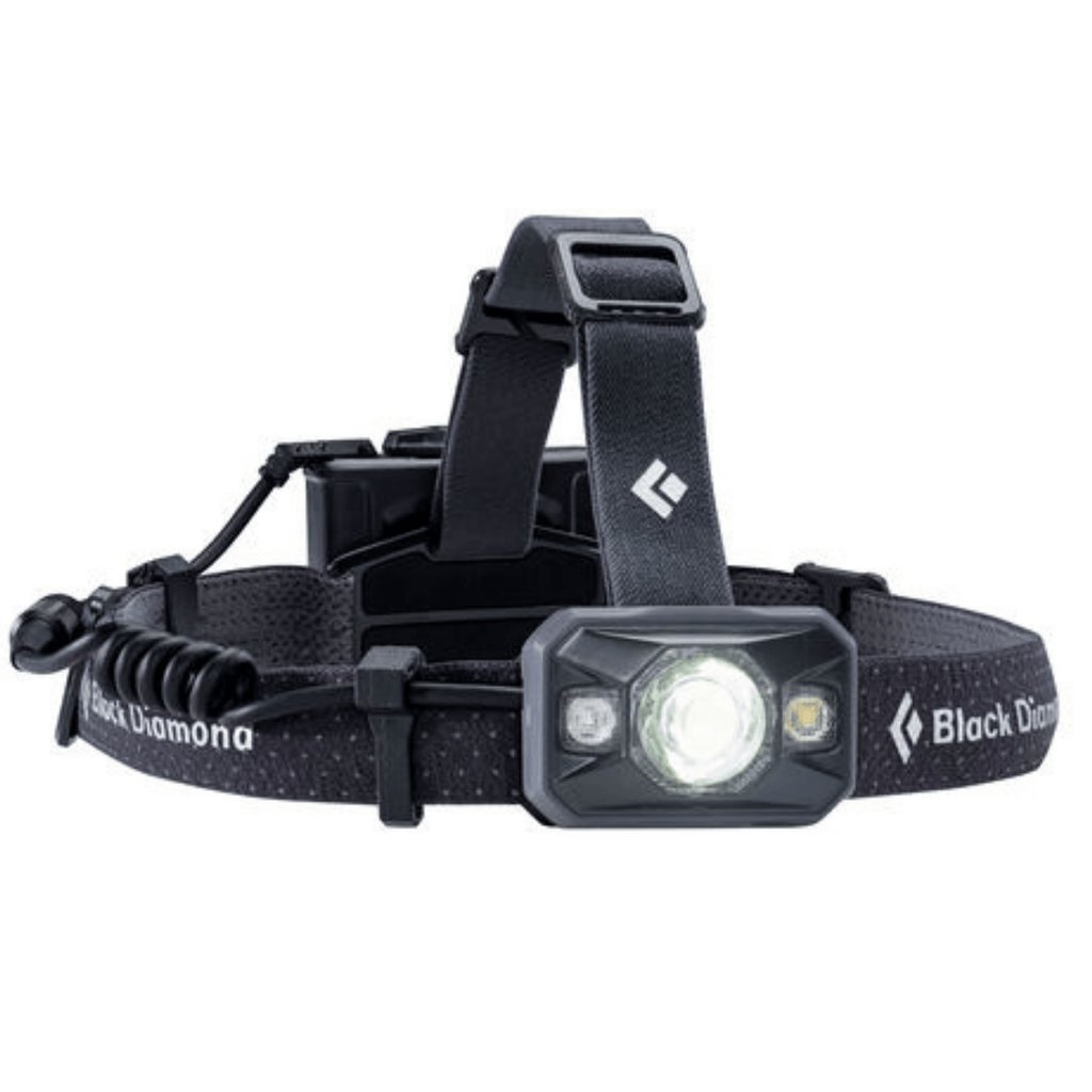 """Black Diamond Icon Black Headlamp with White Light"""