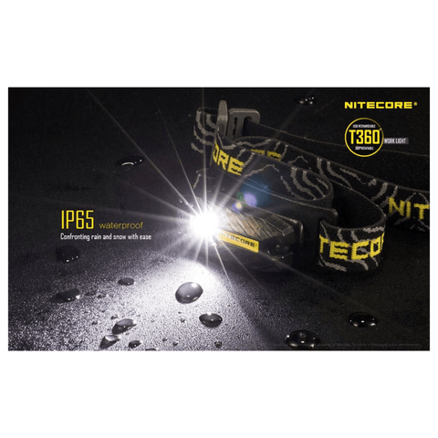 Nitecore T360 Headlamp IP65 Waterproof