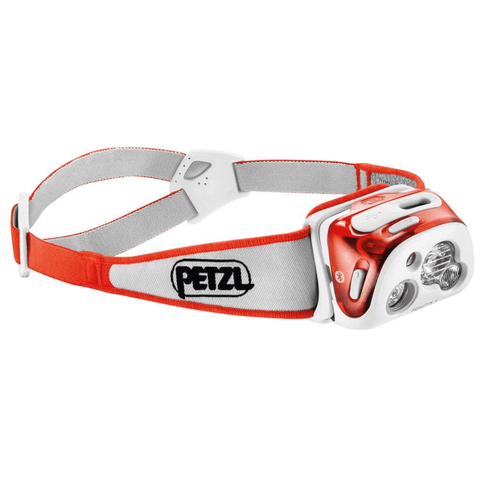 Image of PETZL REACTIK+ Headlamp Coral