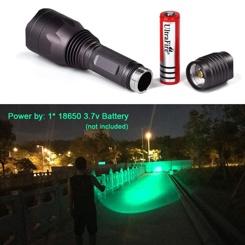 Battery Powered LED Flashlight