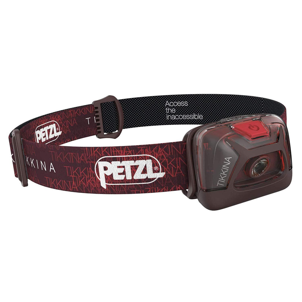 PETZL TIKKINA Tactical LED Headlamp Red