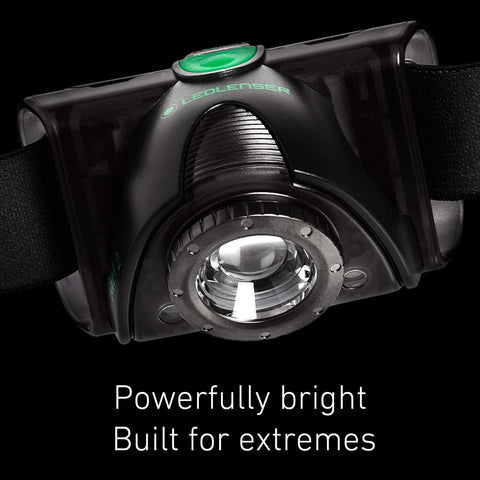 LED Lenser MH2 LED Headlamp Powerfully Bright for Extremes