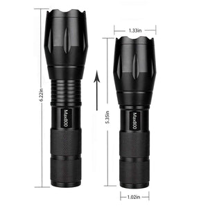 Tactical Ultrabright Flashlight by Miuree (2 included)