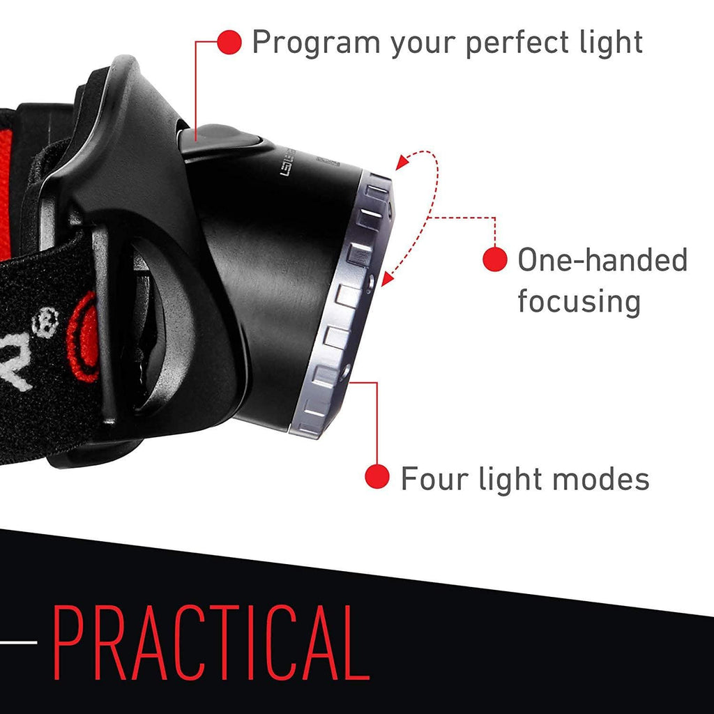 LED Lenser H7.2 Headlamp Practical Features