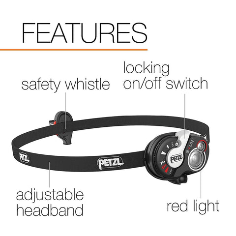 Image of PETZL e+LITE Headlamp Features