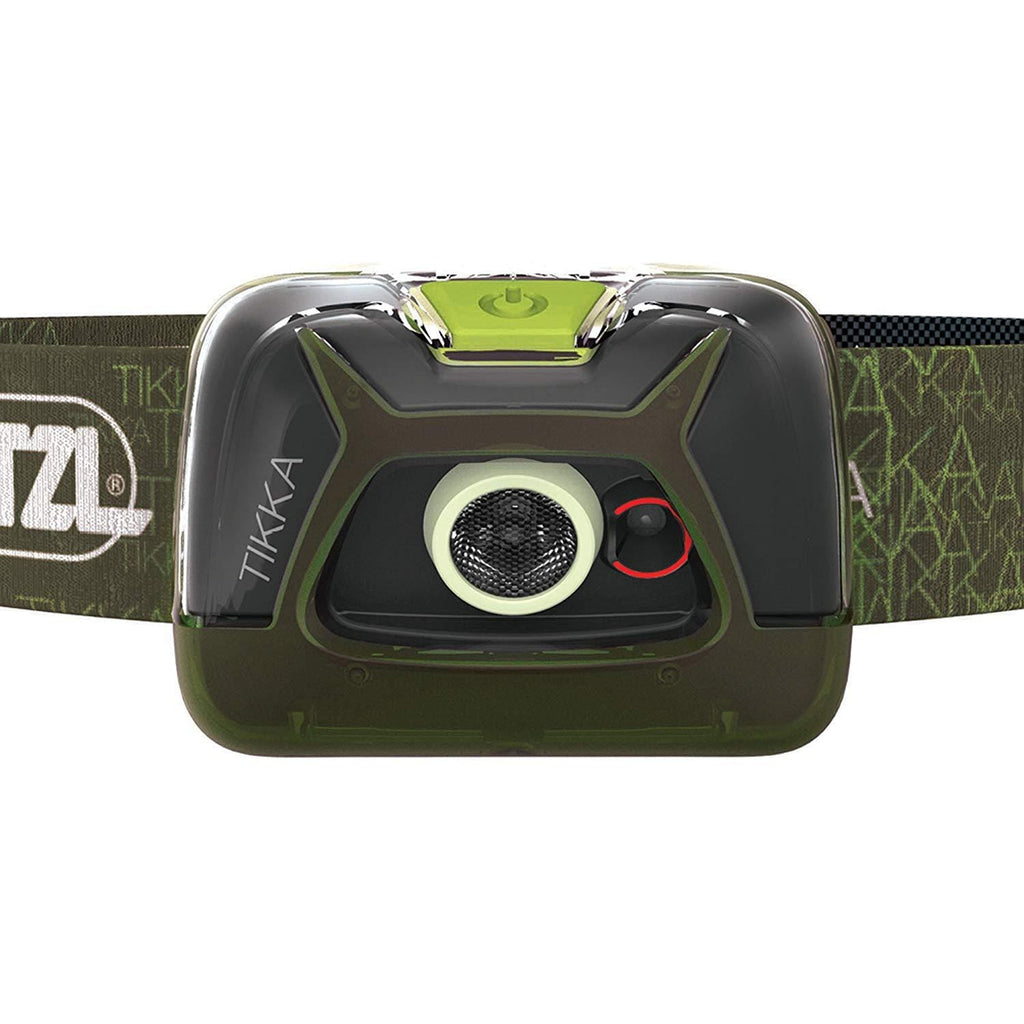 PETZL TIKKA Tactical LED Headlamp Green