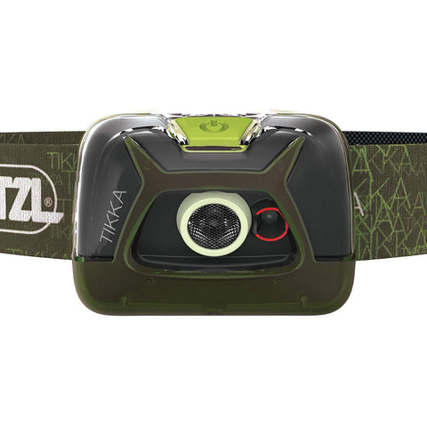 Image of PETZL TIKKA Tactical LED Headlamp Green