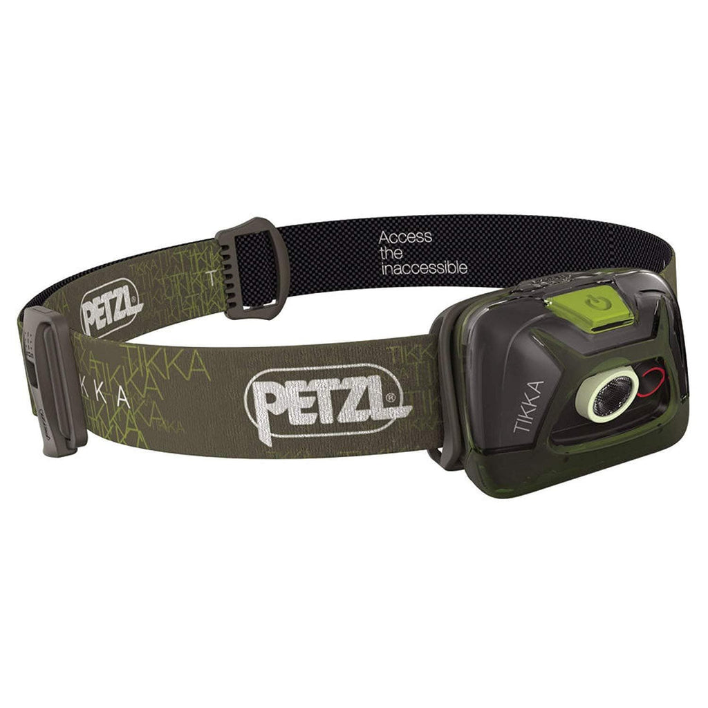 PETZL TIKKA Tactical LED Green Headlamp