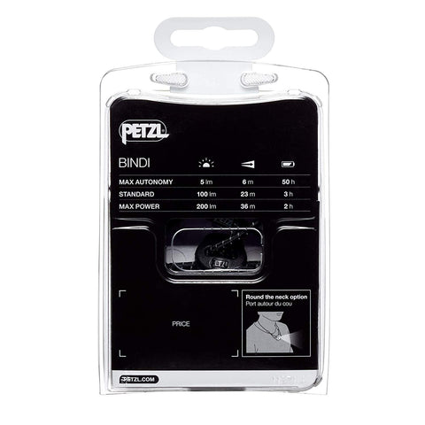 Image of PETZL BINDI Ultralight Rechargeable Headlamp
