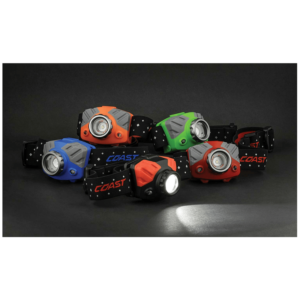 Coast FL75R Headlamp colors