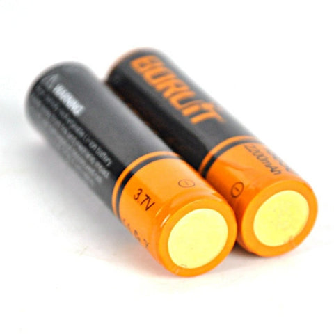 Image of Boruit Rechargeable 18650 Batteries
